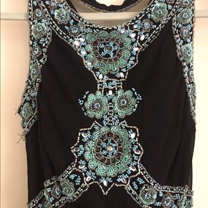 Beaded Sue Wong Nocturne Dress